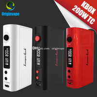 Wholesale rx200 for sale - 100 Original Kanger Kbox W TC Box MOD Full Kit with Soft Pack mah Battery Colors PK RX200 DHL