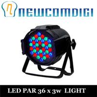 Wholesale Rgb Par 64 - Wholesale-Eyourlife 4 PCS DJ PAR 36x3w LED LIGHTS RGB PAR 64 108watt DMX STAGE PARTY SHOW