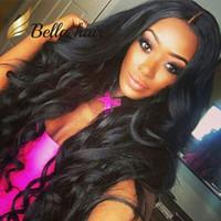 Wholesale brazilian wavy long human hair online - Brazilian Hair Wigs Remy Human Hair Full Lace Wig Wavy Black Color Human Hair Lace Wigs
