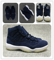 Wholesale boot footwear - cheap 11 PRM Jeter RE2PECT 11s Gym Red Midnight Navy Basketball Shoes 11s Win like 82 mens Sports Shoes Win like 96 Space jam footwear boot
