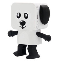 Wholesale Bluetooth Speakers For Kids - Mini Smart Dancing Robot Dog Bluetooth Speaker multi-function Portable Bluetooth Speakers Loudspeaker Creative Christmas Gifts for Kids