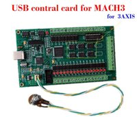 Wholesale Usb Stepper Controller - CNC 3 axis MACH3 USB Smooth Stepper Breakout Board Motion Controller Card Module For Carving Machine