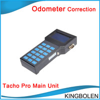 Wholesale Tacho Correction Tool - Super Tacho Pro 2008 odometer correction Mileage correction tool Main Unit only with DHL Free Shipping