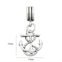 Wholesale Oval Handcuffs - Rope anchor angel sitting on moon freedom handcuffs made with love lock & key Bead 925 Silver Beads Fit pandora Bracelets boy kiss girl