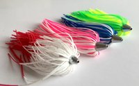 Wholesale Tail Skirts - Weiyu Duster Lure Jig Head with Silicon Skirt Fishing Lure Metal Head Trolling Bait