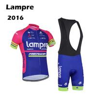 Wholesale Clothing Sportswear Shorts - Pro team Cycling Jersey 2016 Lampre Ropa Ciclismo Mountain MTB Bike cycling clothing Maillot Ciclismo Bicycle clothes Sportswear