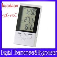 Wholesale digital indoor thermometer outdoor thermometer HX C to C MOQ