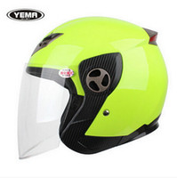 Wholesale Helmet Motorcycle Yema - 2015 New Style Autumn And Winter YEMA YM622 motorcycle helmet made of ABS and for FREE SIZE