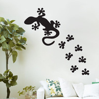 Lézard Stickers Muraux DIY Amovible Vinyle Stickers Muraux Nursery Wall Decor Animaux Wallpaper Design