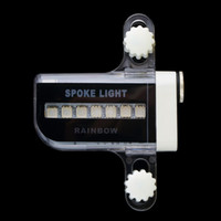 Wholesale Bike Led Signal - icycle Accessories Bicycle Lights Gofuly 2015 New 14 LED Motorcycle Cycling Bicycle Bike Wheel Signal Tire Spoke Light 30 Changes new arr...