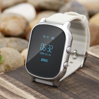 Wholesale Tracking Devices Watches - T58 GPS Tracker Kids Adult Elder Smart Watch SOS Safety Call Locator GSM Tracking Device LBS WiFi Monitor Clock Smartwatch Ann
