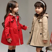 Wholesale Children wear girls long sleeved jacket Spring and Autumn new casual windbreaker coat years old children s clothing BX