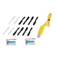 Wholesale Metal Robot Usb - Original JJRC H20 USB Charging Cable + Propeller and lipo Battery for JJRC H20 RC Hexacopter Part order<$18no track
