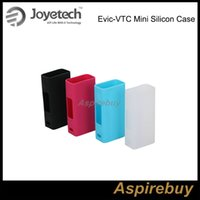 Wholesale Joyetech Cases - Clearance!Joyetech EVIC VTC Mini Silicone box Case Colorful Case Cover for EVIC VTC Mini Mod Protective Case for Evic VTC Mod 100% Original