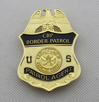 Wholesale U S Department of Homeland Security CBP customs and border protection DHS patrol badges
