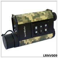 laser de visão venda por atacado-Freeshipping Night vision rangefinder visão noturna monocular telescópio infravermelho caça noite medida altura medidor de velocidade de laser detetive 6x