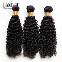 Wholesale Jerry Curls - Cambodian Curly Hair Unprocessed Cambodian Kinky Curly Human Hair Weave 3 Bundles Lot 8A Grade Cambodian Jerry Curls Hair Extensions Dyeable