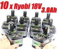 Wholesale 10 Packs x Ah RYOBI V Lithium Battery ONE Ryobi Lithium Battery Volt order lt no track