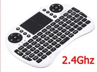 Rii I8 Remote Fly Air Mouse Mini Teclado inalámbrico Bluetooth 2.4GHz Touchpad Control remoto para Tablet PC Android TV Bluetooth Box M8s