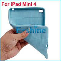 Wholesale Case Ipad Tpu Gel - Honeycomb TPU Case For iPad Mini 4 Anti-Scratch Flexible Slim Thin Gel Soft Back Skin Cover 3 Colors