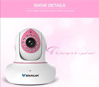 Wholesale new Arrival Vstarcam C7838WIP pink Wireless IP Camera P HD IR Network Webcam WIFI CCTV Baby monitor DHL