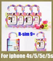 iphone 5s ios8.x ürününün kilidini aç toptan satış-ios5 ios için r-sim 9 + 6 7 8 r sim 9 artı rsim 9 + kilidini sim kart iphone mikro sim unlock için kart sahibinin ihone 5 5 s 5c iphone 4 s OTH015
