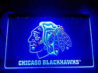 Wholesale Hockey Neon Light - LD082-b Chicago Blackhawks Hockey Neon Light Signs led sign