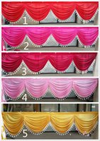 Wholesale Voile Curtains Scarf - Home Sale Curtains WATERFALL FAUX SILK & WINDOW SHEER SCARF VOILE WINDOW CURTAIN DRAPES VALANCE Burgundy Window Valances