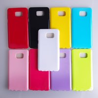 Wholesale iphone plus jelly gel case for sale - Glossy Jelly Candy Color Solid Soft TPU Gel Rubber Silicone Case Cover For iPhone S Samsung Galaxy Note Note5 S4 S5 Mini S6 Edge Plus