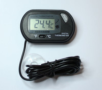 Wholesale Water Tank Digital Thermometer - Wholesale Aquarium Digital Thermometer Fish Tank Water Thermometer w  Probe