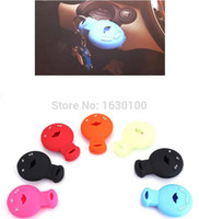 Wholesale S Mini Wallet Case - Wholesale-Color Silicone car key case cover guard protector for Bmw MINI COOPER S