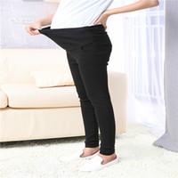 Wholesale Summer Long Pants For Woman - Long cotton abdominal skinny elastic high waist maternity pants for pregnant women maternity formal casual pants,women fashion pencil pants