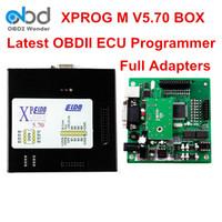 Wholesale Xprog Dhl - DHL Free Xprog-m 5.70 Box Auto ECU Programming Tool Xprog M FW V5.70 SW V3.9 OBD2 Chip Tuning Adapter Better Than X-prog 5.60