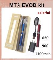 Wholesale Gift Box Ecig - ecigator ecig wholesale e-cig starter kit evod mt3 vaporizer with ego 510 thread mt3 evod e pipe atomizer gift box vape starter kit LH008