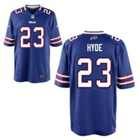 Compra Kelly Thomas-Micah Hyde Bills maglie da calcio Buffalo LeSean McCoy Jim Kelly Tyrod Taylor Tre'Davious Richie Incognito Thurman Thomas maglia personalizzata 4xl