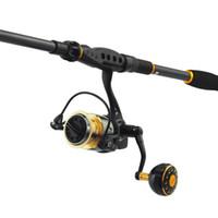 Wholesale Super Hard Pole - ishing Fishing Rods KastKing BlackHawk New Spinning Rod Super Hard Carbon Fishing Pole 1.8m 2.1m 2.4m 2.7m 3.0m 3.6m Lure Rod Fishing Tel...
