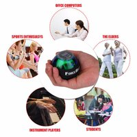 Novo Multifuncional LED Wrist Power Force Grip Ball Arm Muscle Exercise Speed ​​Meter Counter Function 2 Colors drop shipping TH1148