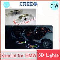 Wholesale Bmw Z8 - Car LED Logo Door Projector Light Ghost Shadow Light FOR BMW E39 X5 E53 E52 Z8