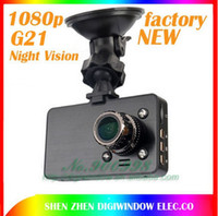 "Wholesale Display Screen G21 - HD Night Vision Car DVR HDMI 2.7"" LCD Screen Vedio 1920*1080P HD Digital Car Camera G21 with 140 degree factory"