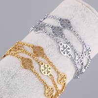 Wholesale Top Charm Bracelet Brands - Top quality Brass material love punk opened hollow round shape for women braceet in 18.5cm Cufflink Send Women and mother brand jewelry