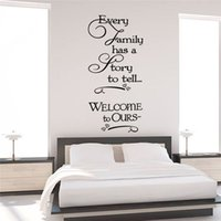 Wholesale Sticker Love Story - loving story quotes wall stickers decorations 8429. diy home decals vinyl art room mural posters adesivos de paredes 4.5