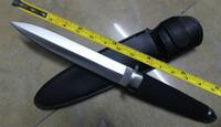 сапожный нож оптовых-БЕСПЛАТНАЯ ДОСТАВКА 13''New ABS Ручка Военный Ботинок Dagger Survival Fixed Боуи Охотничий Нож VTH48 (ЧЕРНЫЙ)