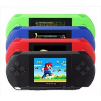 Wholesale Lcd Tvs Wholesale - Game Player PXP3(16Bit) 2.5 Inch LCD Screen Handheld Video Game Player Console 5 Colors Mini Portable TV Game OTH714