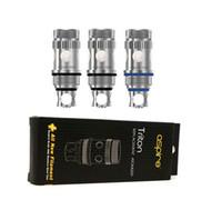 Wholesale E Cig Atomizer Replacement - Triton Coil Heads 0.3ohm 0.4ohm 1.8ohm Triton Replacement Atomizer Coil Core E Cig Coil Wick