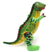 insufláveis insuflados venda por atacado-50 cm Dinossauro Inflável Explodir Bola de Praia Brinquedo Bolas de Ar Mágico Festa Jurassic Play Brinquedos Crianças Presente de Ano Novo Tamanho Grande