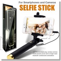 Wholesale Iphone Battery Stick - For iPhone 6s 6s Plus Selfie Stick [Battery Free] Extendable Handled Self Stick monopod with Adjustable Holder & Built-in Remote Shutter