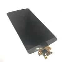 lg g3 sayısallaştırıcı toptan satış-LG G3 Için orijinal YENI LCD Ekran D850 D851 D855 VS985 LS990 LCD Ekran + Dokunmatik Digitizer Ekran Meclisi Ücretsiz Nakliye
