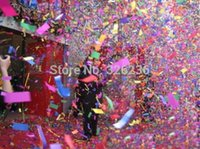 Wholesale Manufacturing Papers - Wholesale-Free shipping High Quality 150W Wire Control Confetti Machine for Stage Light China Manufacture Paper wind Jet for party wedding