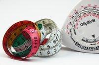 Wholesale Cheapest Calculators - Wholesale-Cheapest price! Accurate BMI Calculator Triangle shape BMI body measure tape,30pcs lot!