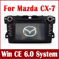 Wholesale Dvd Car Screen Din - Car DVD Player for Mazda CX-7 CX7 2007 2008 2009 2010 2011 2012 2013 with GPS Navigation Radio Bluetooth USB Audio Video Stereo